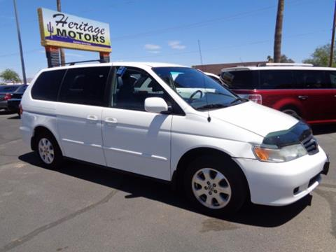 2003 Honda Odyssey for sale at Heritage Motors in Casa Grande AZ