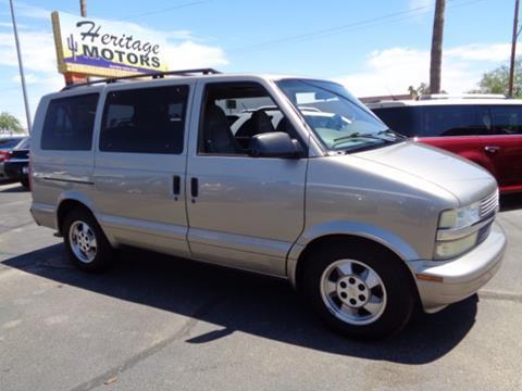 2003 Chevrolet Astro for sale at Heritage Motors in Casa Grande AZ