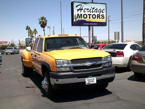 2003 Chevrolet Silverado 3500 for sale in Casa Grande, AZ