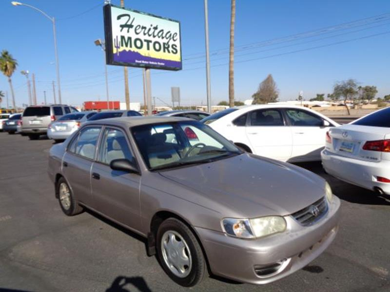 2001 Toyota Corolla For Sale At Heritage Motors In Casa Grande AZ