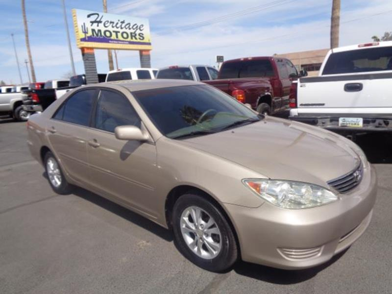 2006 Toyota Camry For Sale At Heritage Motors In Casa Grande AZ
