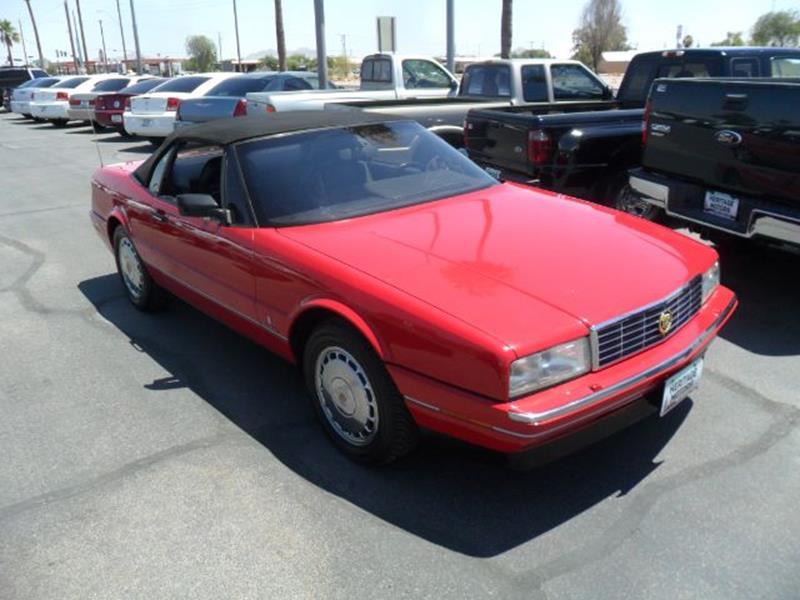 1992 Cadillac Allante In Casa Grande Az Heritage Motors