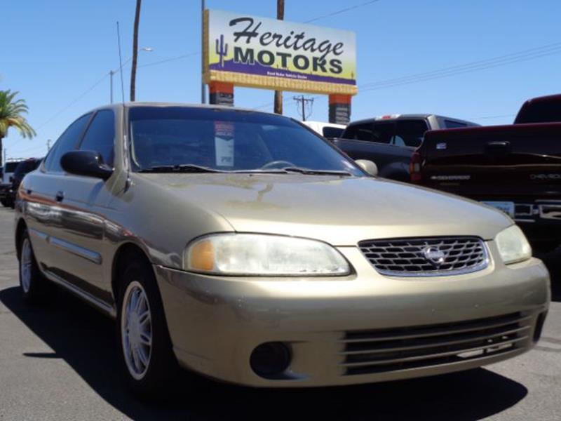2002 Nissan Sentra For Sale At Heritage Motors In Casa Grande AZ
