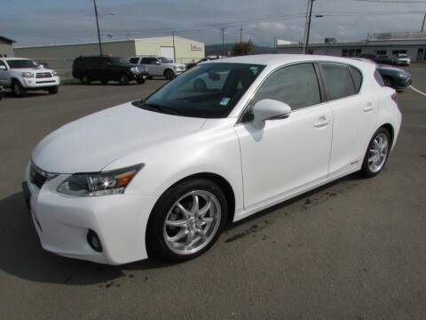 2012 Lexus CT 200h for sale at 101 Budget Auto Sales in Coos Bay OR