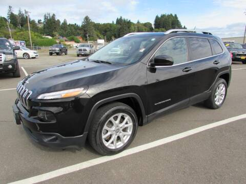 2016 Jeep Cherokee for sale at 101 Budget Auto Sales in Coos Bay OR