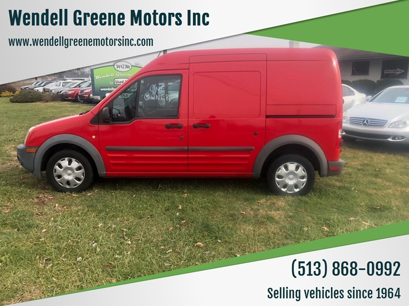 2010 Ford Transit Connect Cargo Van Xl In Hamilton Oh Wendell