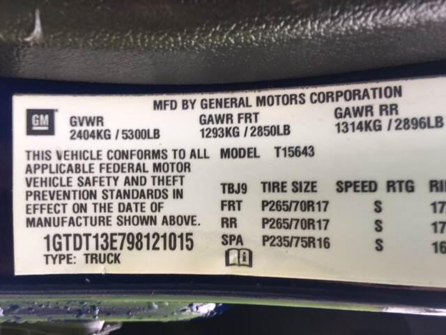 2009 GMC Canyon 4x4 SLE-1 Crew Cab 4dr - Hamilton OH