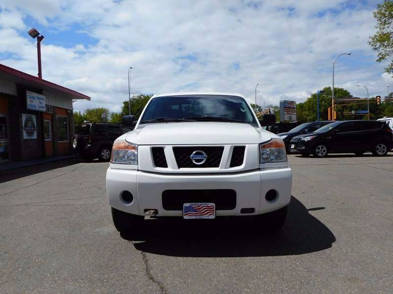 2008 Nissan Titan for sale at Twin City Motors in Grand Forks ND