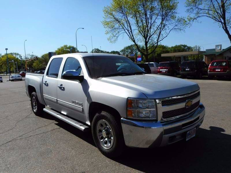 2012 Chevrolet Silverado 1500 for sale at Twin City Motors in Grand Forks ND