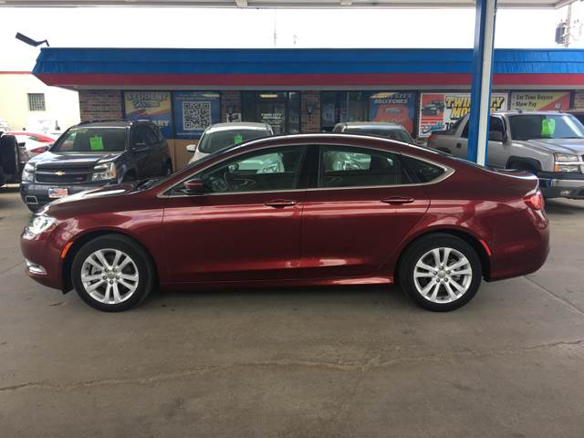 2016 Chrysler 200 for sale at Twin City Motors in Grand Forks ND