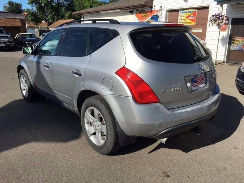 2003 Nissan Murano for sale at Twin City Motors in Grand Forks ND