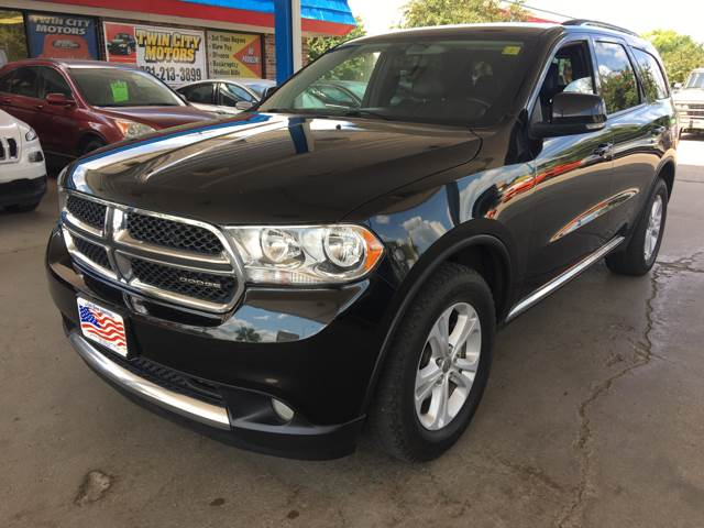 2012 Dodge Durango for sale at Twin City Motors in Grand Forks ND