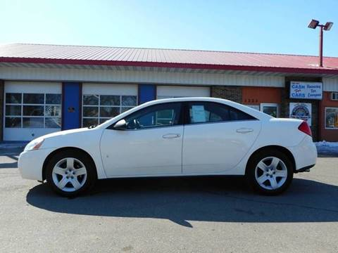 2008 Pontiac G6 for sale at Twin City Motors in Grand Forks ND