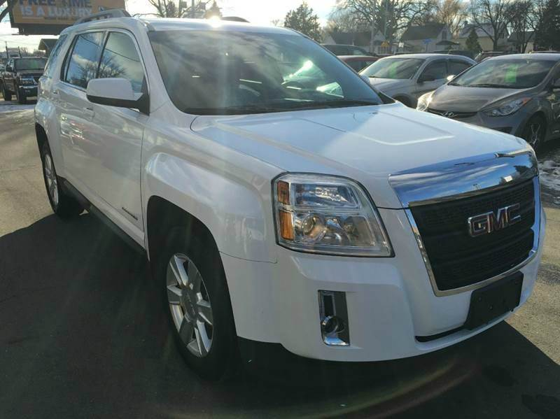 2010 GMC Terrain for sale at Twin City Motors in Grand Forks ND