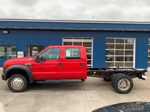 2010 Ford F-550 Super Duty for sale at Twin City Motors in Grand Forks ND