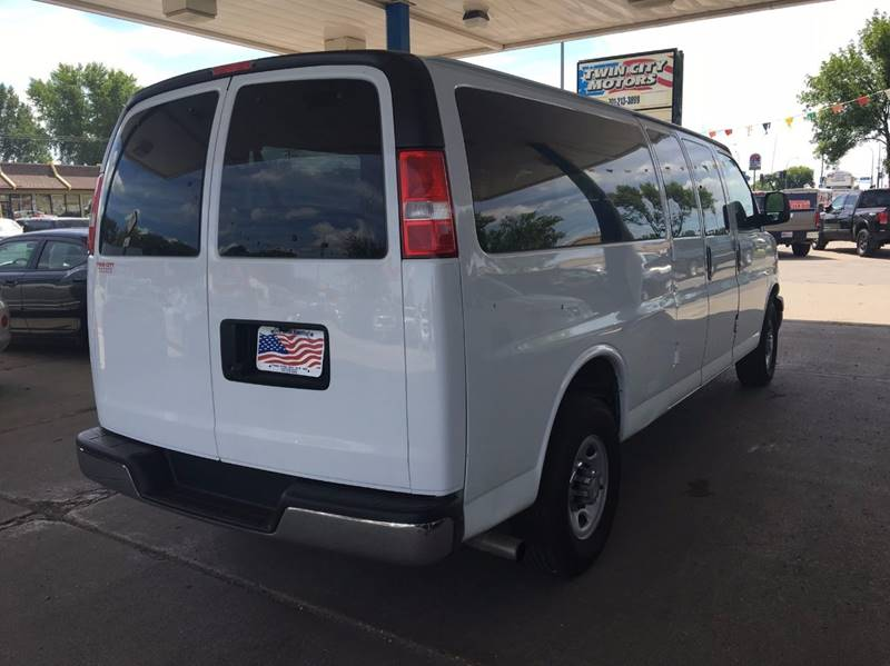 2015 Chevrolet Express Passenger for sale at Twin City Motors in Grand Forks ND