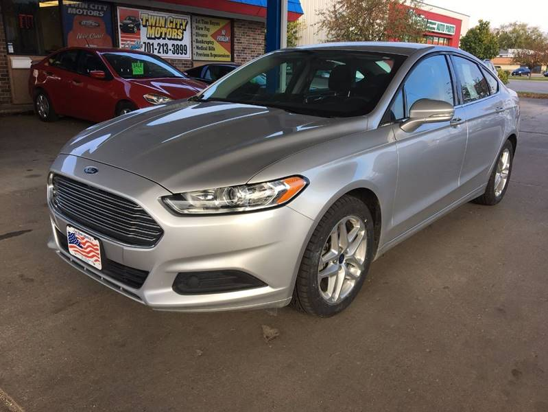 2013 Ford Fusion for sale at Twin City Motors in Grand Forks ND