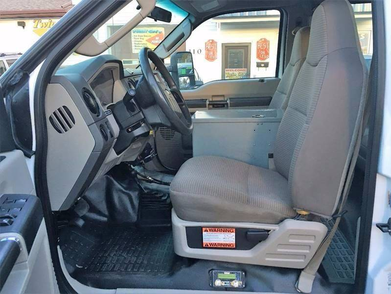 2008 Ford F-550 for sale at Twin City Motors in Grand Forks ND