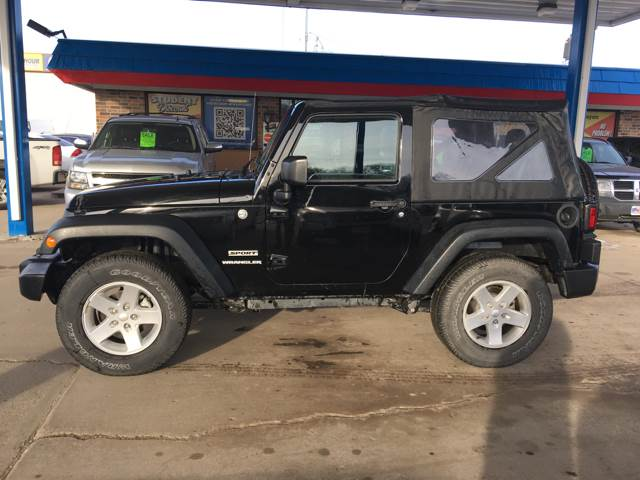 2015 Jeep Wrangler for sale at Twin City Motors in Grand Forks ND