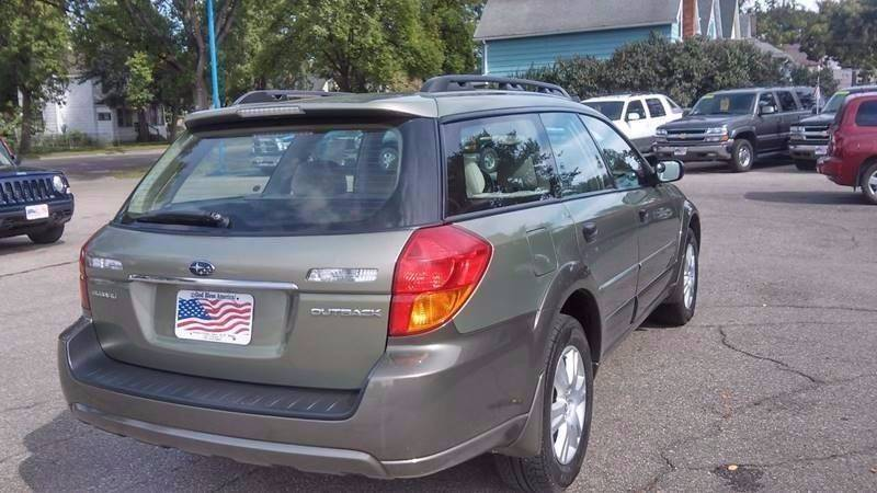 2005 Subaru Outback for sale at Twin City Motors in Grand Forks ND