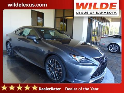2017 Lexus RC 200t for sale in Sarasota, FL