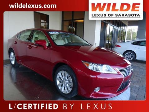 2013 Lexus ES 300h for sale in Sarasota, FL