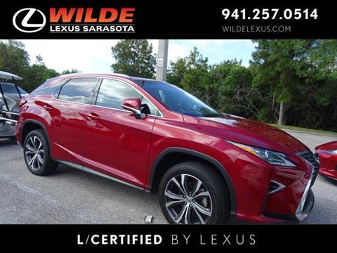 2016 Lexus RX 350 for sale in Sarasota, FL