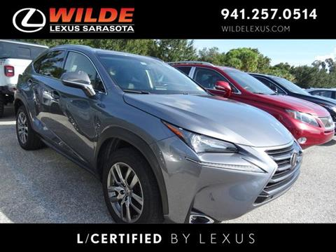2016 Lexus NX 200t for sale in Sarasota, FL