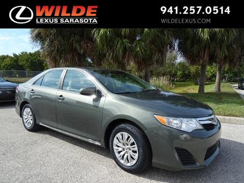 2013 Toyota Camry for sale in Sarasota, FL