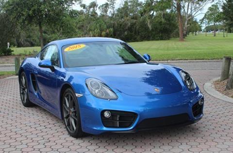 2015 Porsche Cayman for sale in Sarasota, FL