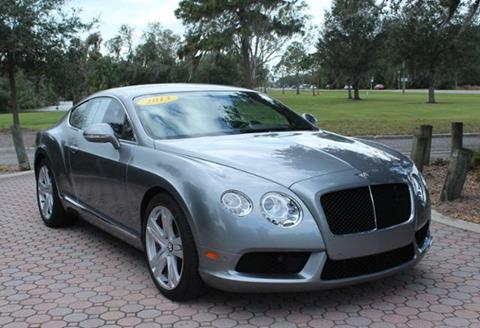 2013 Bentley Continental GT V8 For Sale in Pacoima, CA - Carsforsale.com