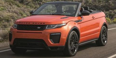 land rover range rover evoque convertible for sale - carsforsale®