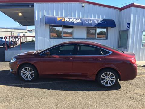 2015 Chrysler 200 for sale in Amarillo, TX