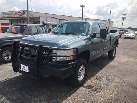 2009 Chevrolet Silverado 2500HD for sale at BUDGET CAR SALES in Amarillo TX