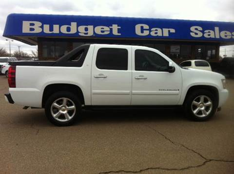2009 Chevrolet Avalanche for sale at BUDGET CAR SALES in Amarillo TX