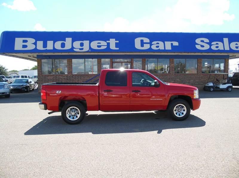 2011 Chevrolet Silverado 1500 for sale at BUDGET CAR SALES in Amarillo TX