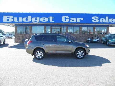 2009 Toyota RAV4 for sale at BUDGET CAR SALES in Amarillo TX