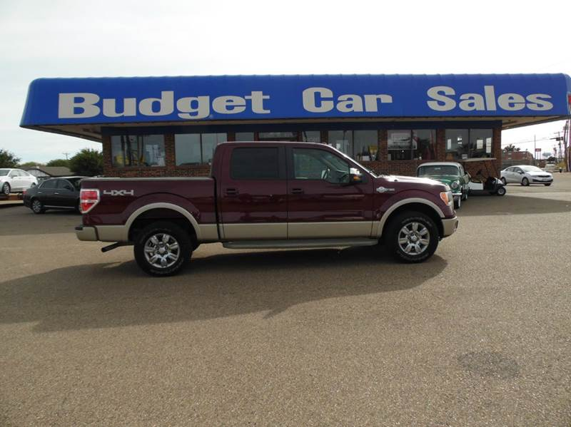 2009 Ford F 150 King Ranch 4x4 4dr Supercrew Styleside 5 5 Ft Sb In