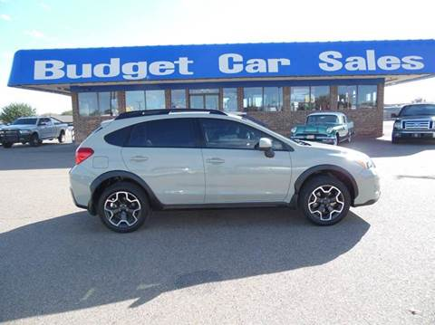 2014 Subaru XV Crosstrek for sale at BUDGET CAR SALES in Amarillo TX