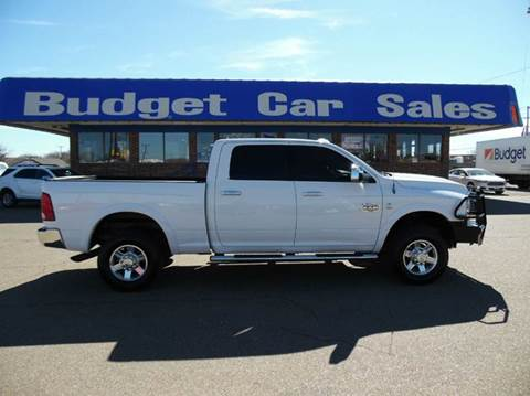 2012 RAM Ram Pickup 2500 for sale at BUDGET CAR SALES in Amarillo TX