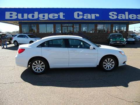 2013 Chrysler 200 for sale at BUDGET CAR SALES in Amarillo TX