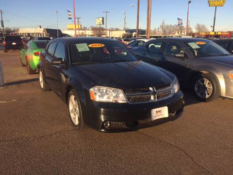 2013 Dodge Avenger for sale at BUDGET CAR SALES in Amarillo TX