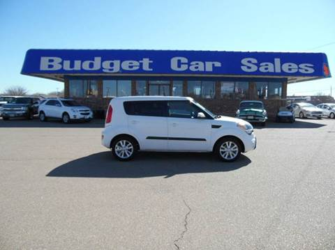 2013 Kia Soul for sale at BUDGET CAR SALES in Amarillo TX