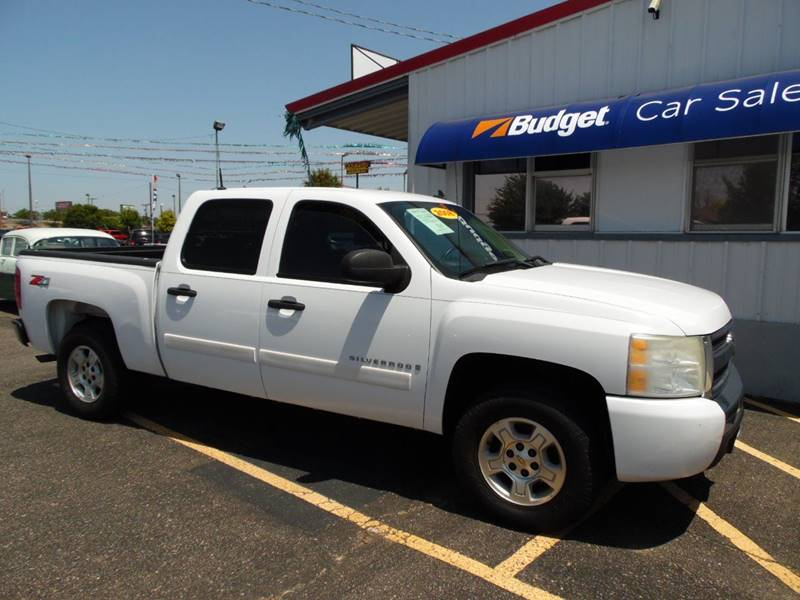 2008 chevrolet silverado 1500 4wd lt1 4dr crew cab 5 8 ft sb in amarillo tx budget car sales. Black Bedroom Furniture Sets. Home Design Ideas