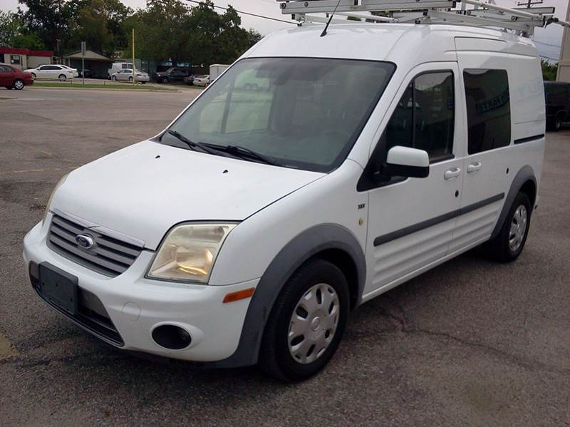 2012 Ford Transit Connect for sale at HOUSTON MOTORS in Stafford TX