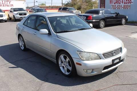 2001 Lexus IS 300 for sale in Las Vegas, NV
