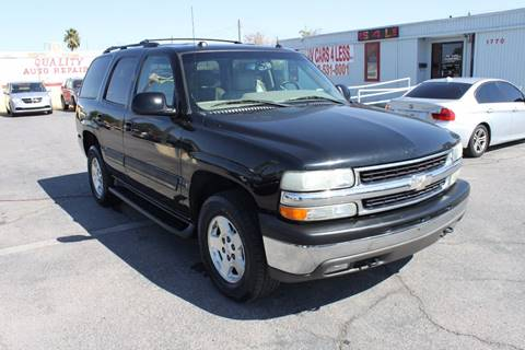 2004 Chevrolet Tahoe for sale in Las Vegas, NV