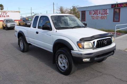 2003 Toyota Tacoma for sale at NV Cars 4 Less, Inc. in Las Vegas NV