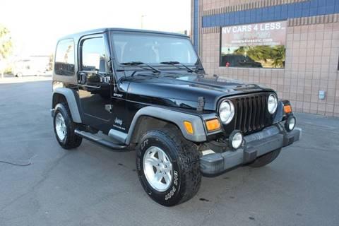 2004 Jeep Wrangler for sale in Las Vegas, NV