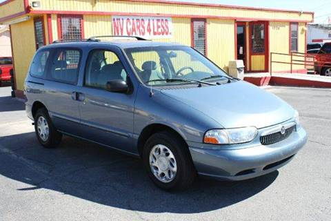 2000 Mercury Villager for sale at NV Cars 4 Less, Inc. in Las Vegas NV